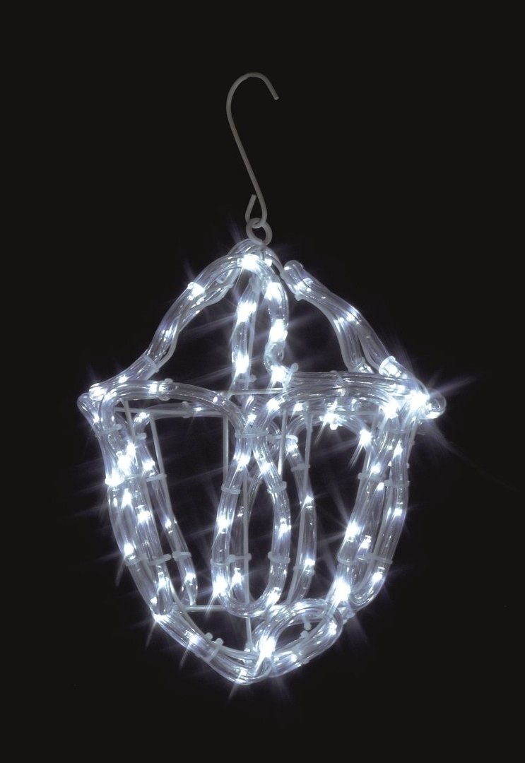 Uk Gardens Christmas Twinkling White Rope Light Lantern Indoor Or Throughout Most Popular Outdoor Xmas Lanterns (Gallery 14 of 20)