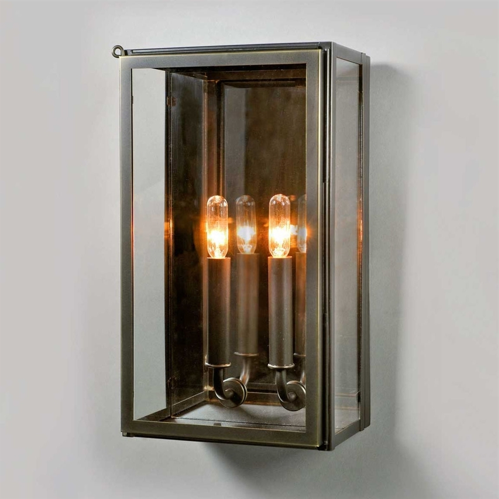 Urban Electric Vic Indoor Outdoor Wall Sconce Bronze Pier Sconces Inside Widely Used Outdoor Electric Lanterns (Gallery 10 of 20)