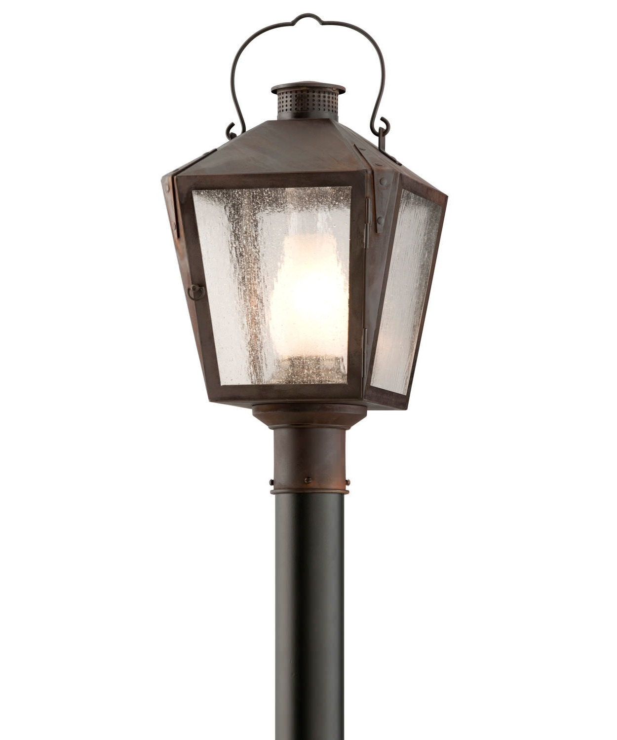 Urban Lamppost / Traditional / Metal / Glass – Post Fixtures With 2018 Nantucket Outdoor Lanterns (View 18 of 20)
