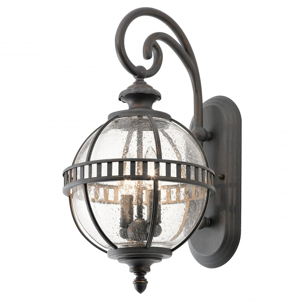 Victorian Small Globe Style Exterior Lantern In Londonderry Finish Regarding Popular Victorian Outdoor Lanterns (Gallery 3 of 20)