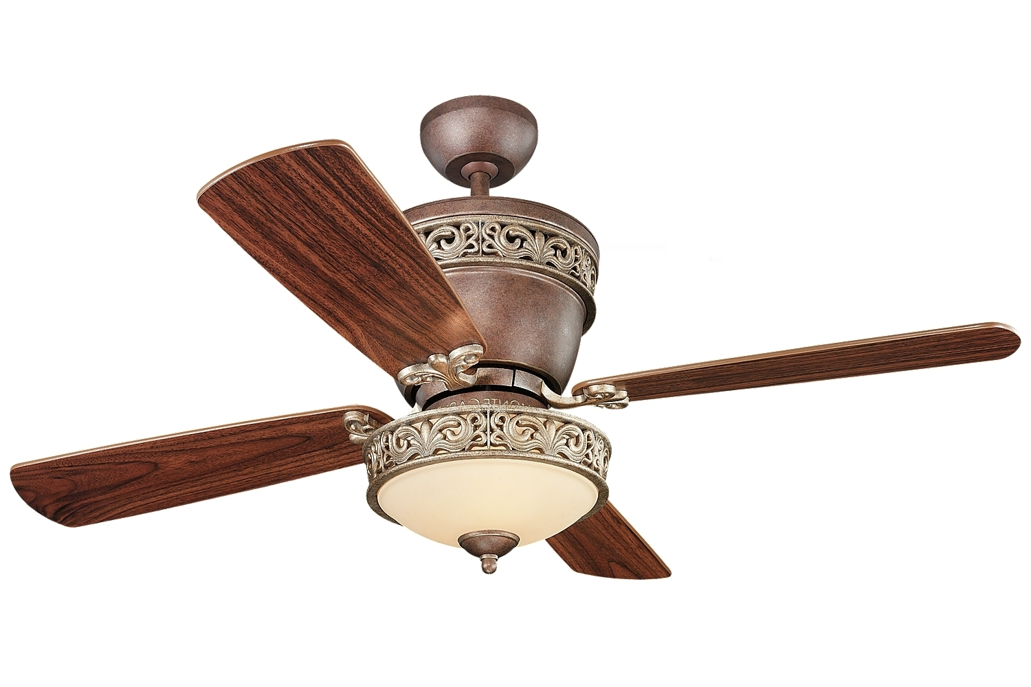 Villager Ceiling Fan With Lightmonte Carlo (Gallery 10 of 20)