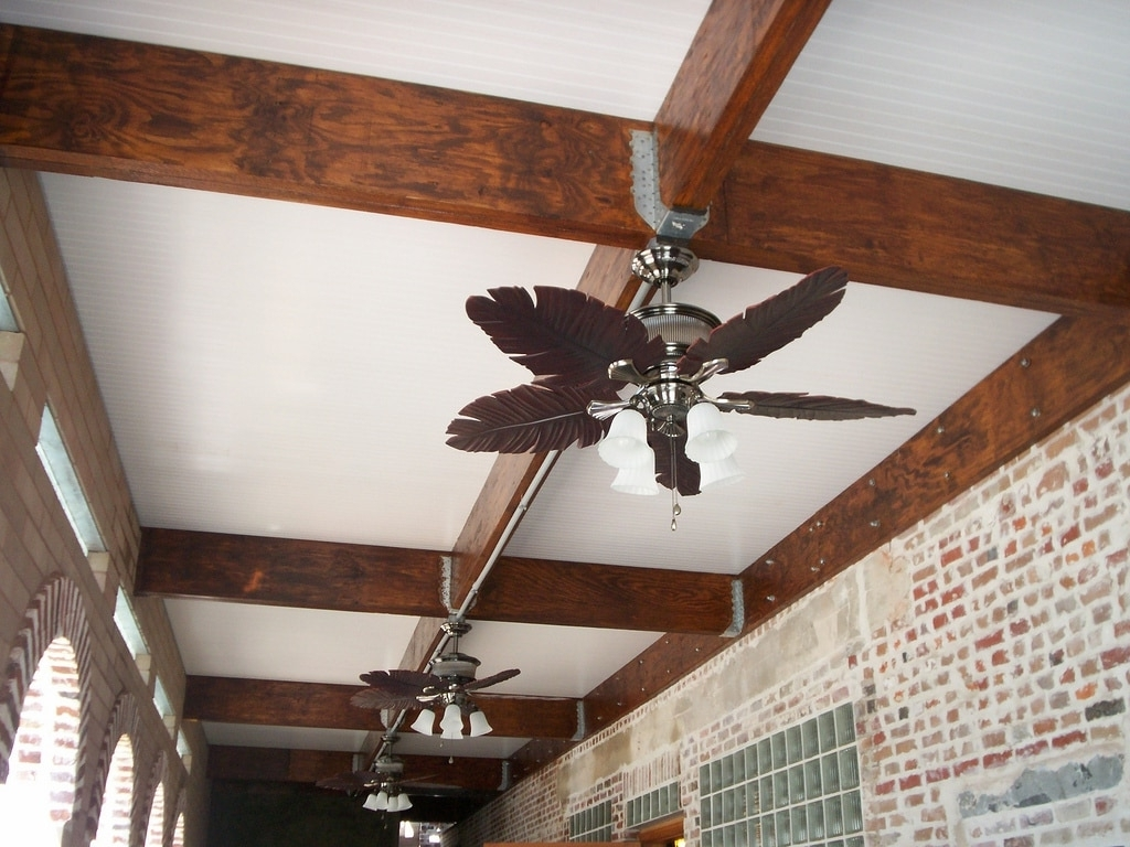 Wahoo Decks With Most Recent Outdoor Ceiling Fan Under Deck (View 18 of 20)