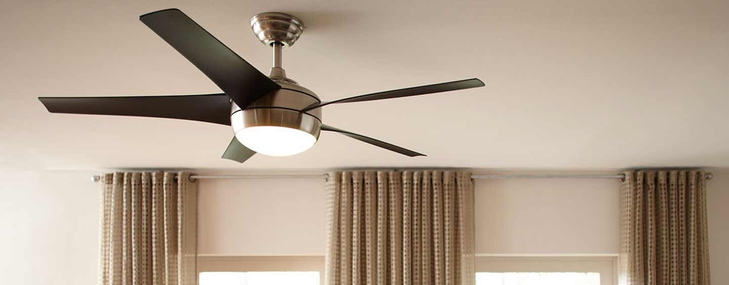 Waterproof Outdoor Ceiling Fans Intended For Most Up To Date What's The Difference Between Indoor And Outdoor Ceiling Fans? (View 16 of 20)