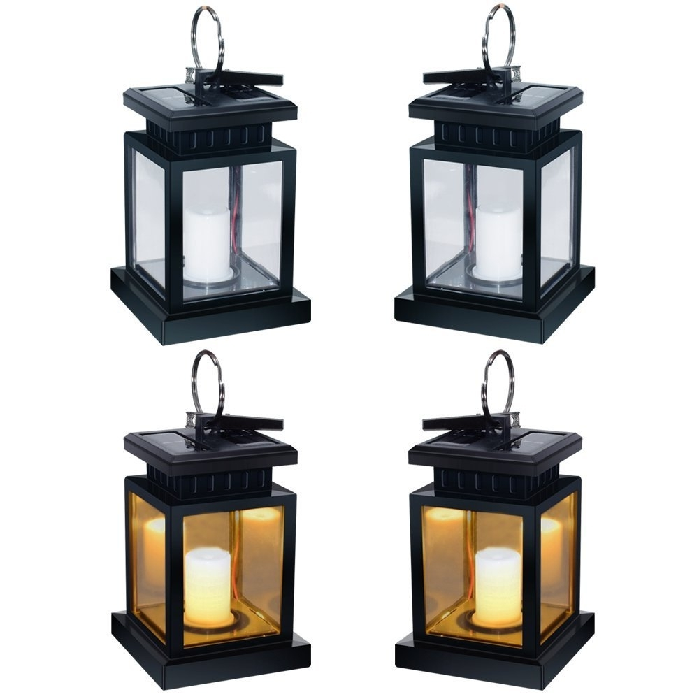 Waterproof Outdoor Lanterns For Most Current Andefine Hanging Solar Lanterns Outdoor Led Umbrella Lights (View 9 of 20)
