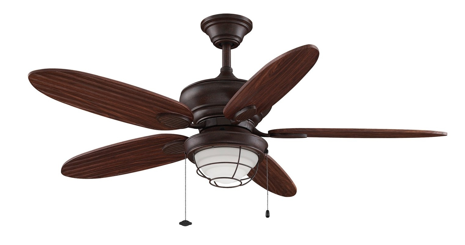 Wayfair Outdoor Ceiling Fans With Lights Within Famous Outdoor Ceiling Fans C Wayfair Ceiling Fans With Lights Simple (View 7 of 20)