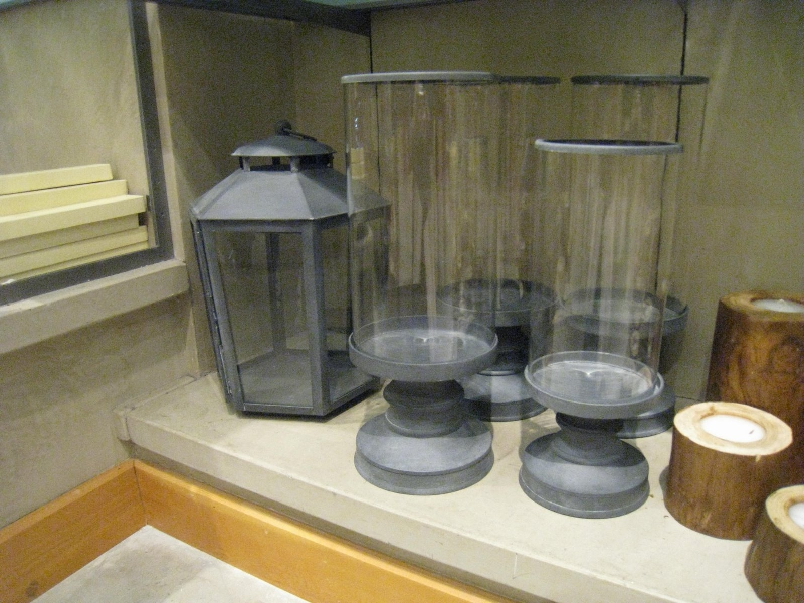 Weathered Zinc Garden Lanterns : Katy Elliott Pertaining To Widely Used Zinc Outdoor Lanterns (View 8 of 20)