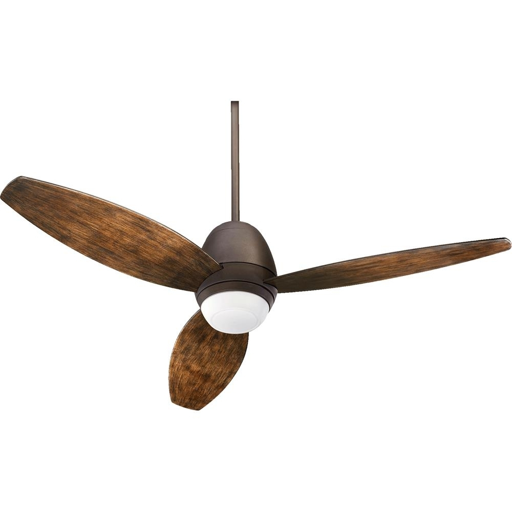 """Well Known 142523 86 – Quorum International 142523 86 Bronx Patio 52"""" 3 Blade Pertaining To Quorum Outdoor Ceiling Fans (View 5 of 20)"""