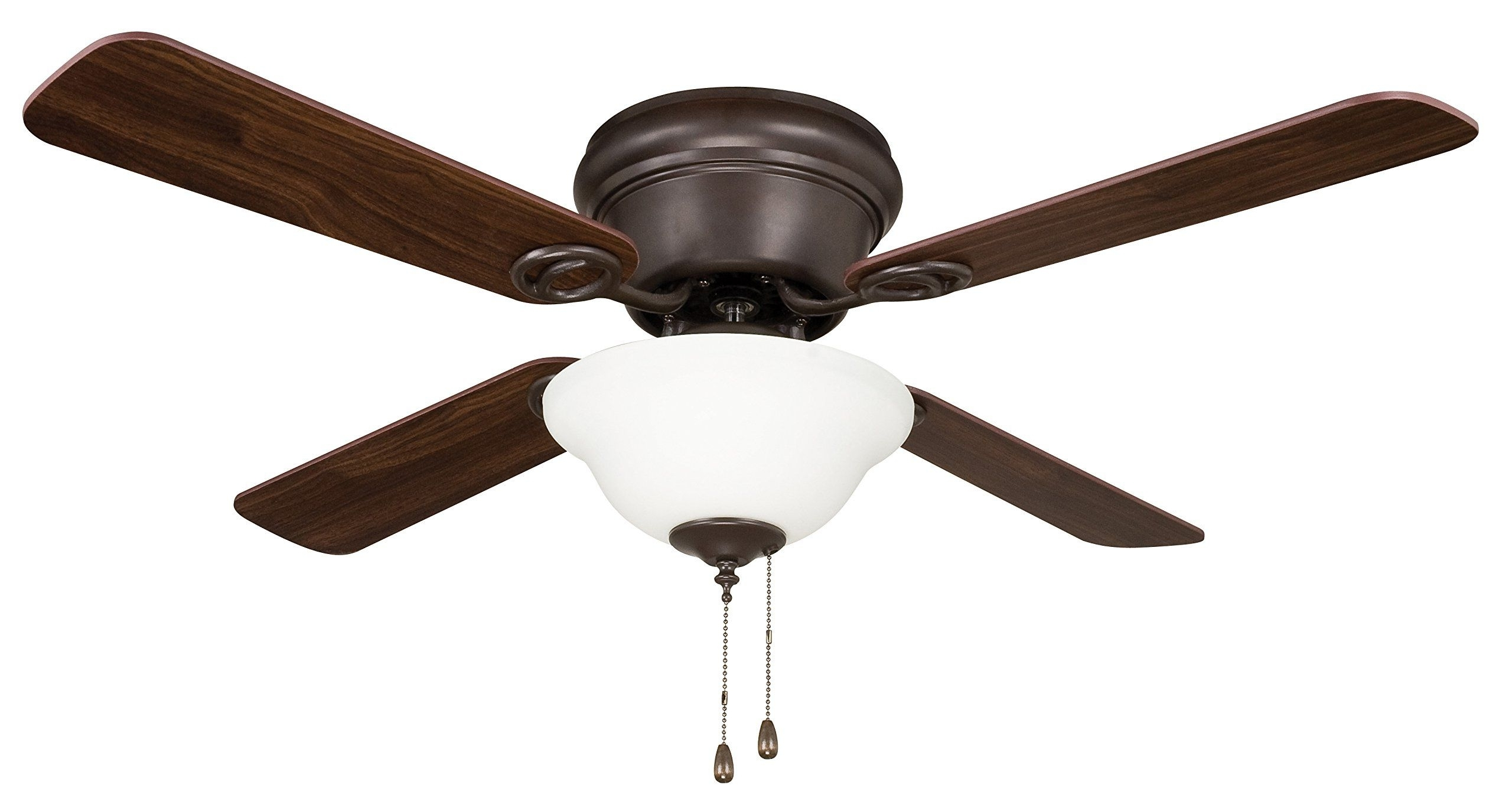 Well Known 42 Inch Outdoor Ceiling Fans With Lights Regarding Litex Wc42Orb4C1 Wyman Collection 42 Inch Ceiling Fan With Five (View 20 of 20)