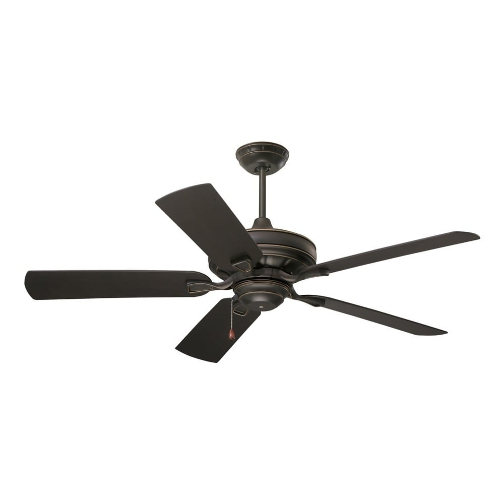 Well Known 48 Inch Outdoor Ceiling Fans Throughout Emerson Veranda 52 Inch Golden Espresso Traditional Indoor/outdoor (View 14 of 20)