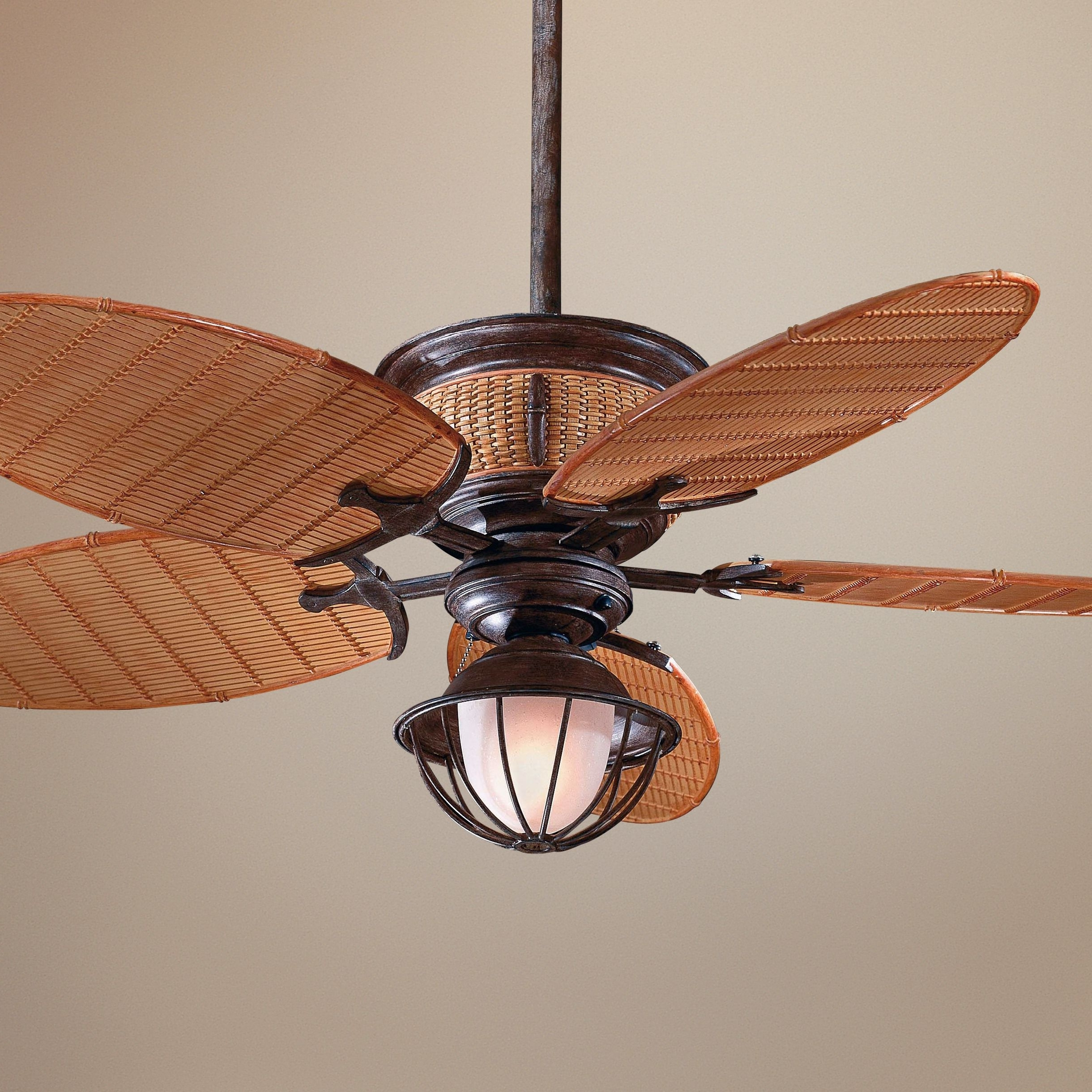 Well Known Bamboo Outdoor Ceiling Fans In Page 66 Of Large Ceiling Fans Tags Caged Ceiling Fan With Light For (View 9 of 20)