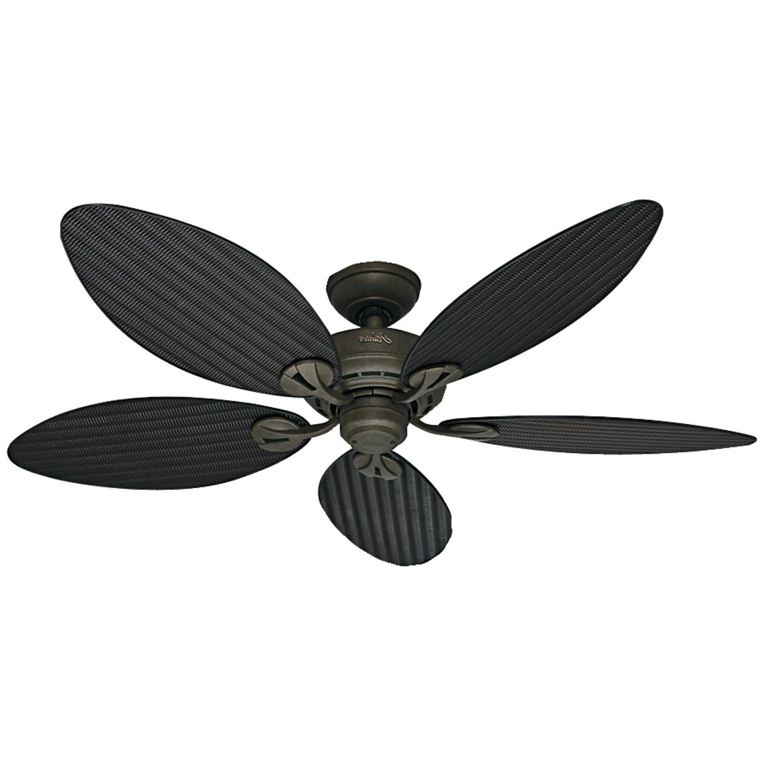 Well Known Ceiling: Marvellous Ceiling Fans With Leaf Shaped Blades Wicker Regarding Bamboo Outdoor Ceiling Fans (View 19 of 20)