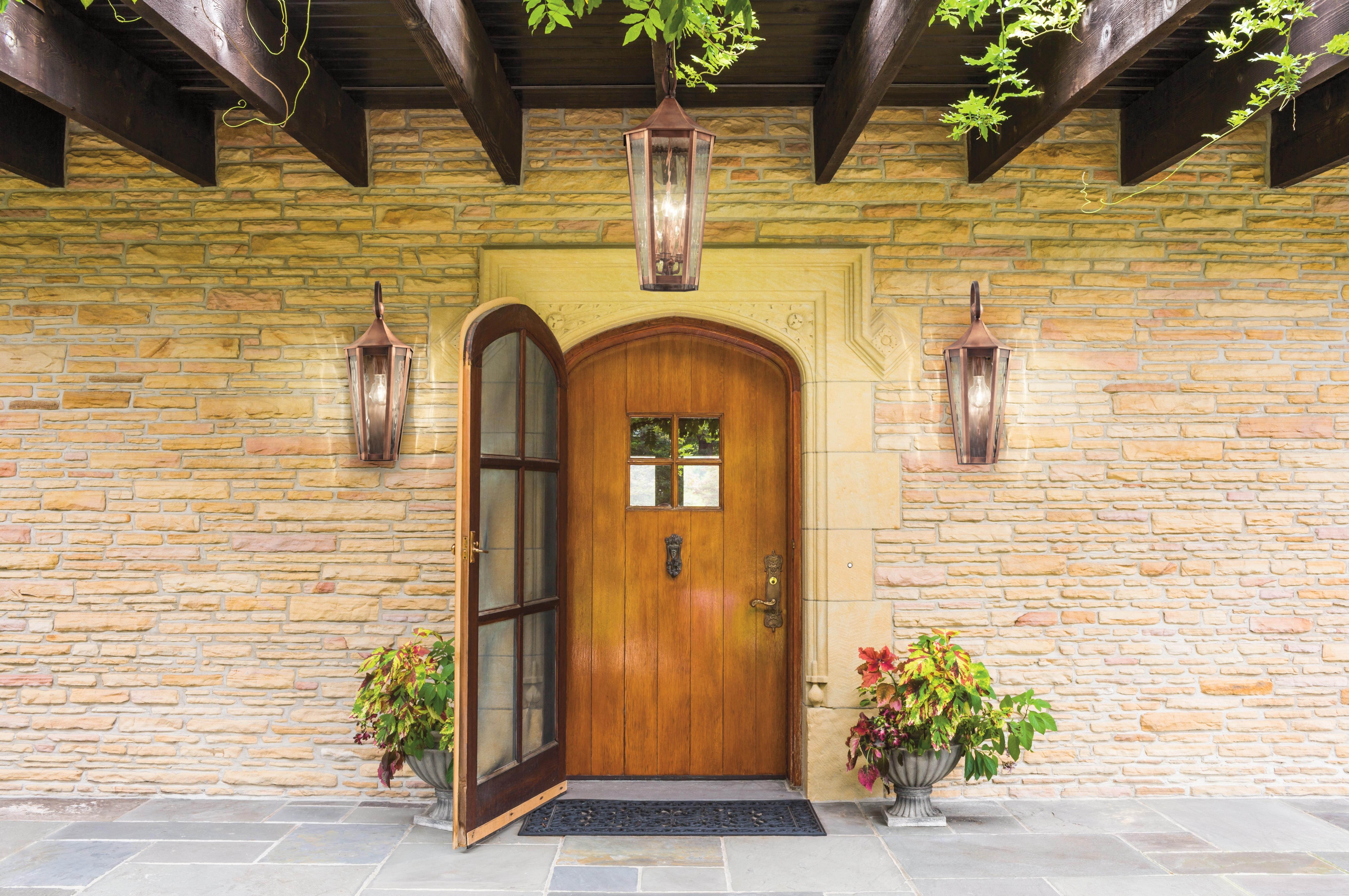 Well Known Craftsman Style Exterior Lighting Helpful Outdoor Front Porch Doors With Outdoor Door Lanterns (View 18 of 20)