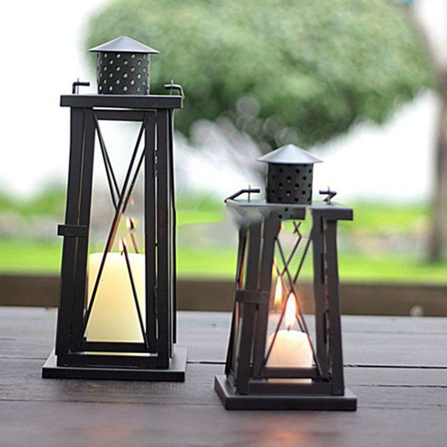 Well Known Decorative Outdoor Kerosene Lanterns With Outdoor Lighting Wall Lamp Led Modern Bedroom Decorative Candle (View 16 of 20)