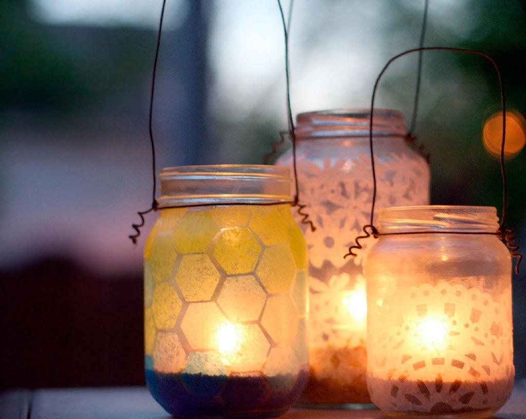 Featured Photo of Outdoor Jar Lanterns