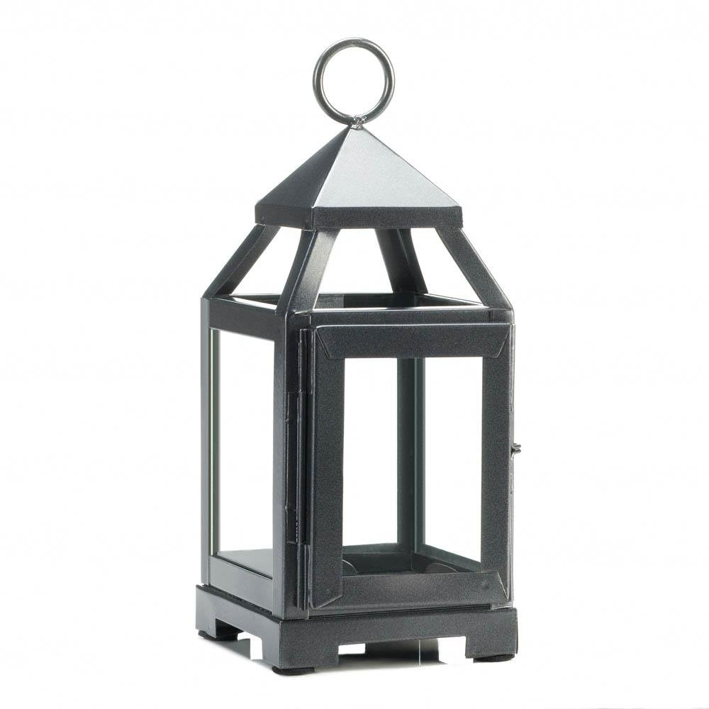 Well Known Iron Lantern Candle Holder, Iron Outdoor Rustic Mini Metal Candle Intended For Outdoor Rustic Lanterns (View 13 of 20)