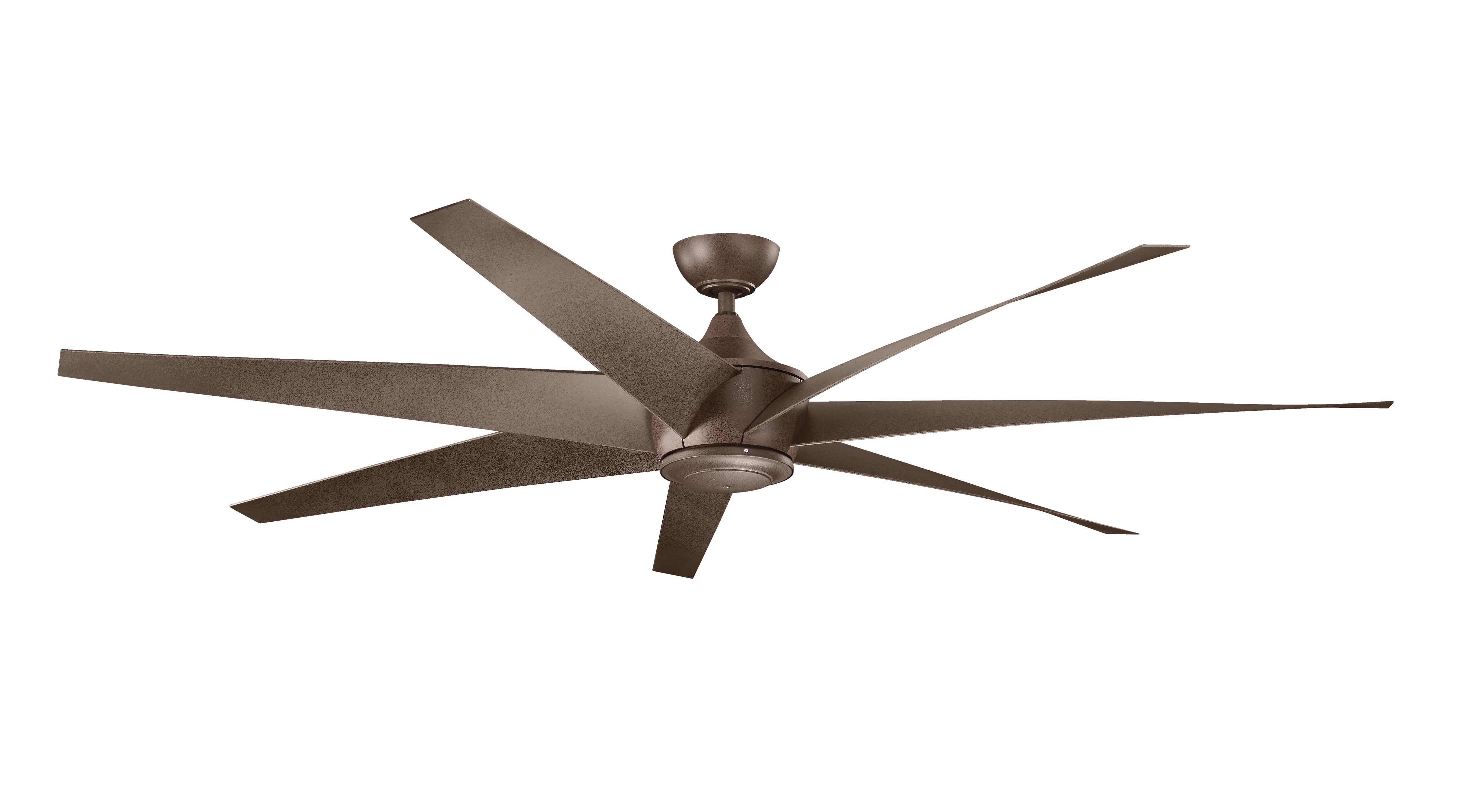 Well Known Kichler Lehr Wet Climate Dc Ceiling Fan – New For 2016 For 72 Predator Bronze Outdoor Ceiling Fans With Light Kit (View 6 of 20)