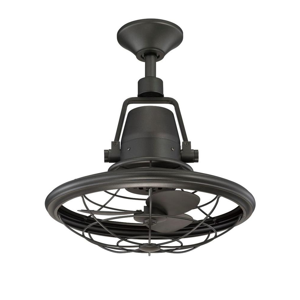 Well Known Modern Patio Ideas With Neutral Natural Iron Finish, And 3 Speed Pertaining To Outdoor Ceiling Fans For Canopy (View 18 of 20)