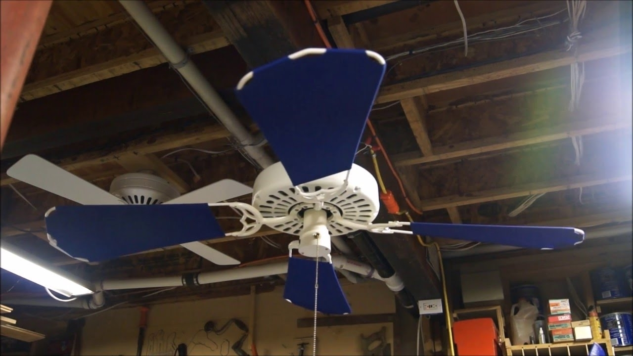 Well Known Outdoor Ceiling Fans By Hunter For Hunter Original Outdoor Ceiling Fan – Youtube (View 18 of 20)