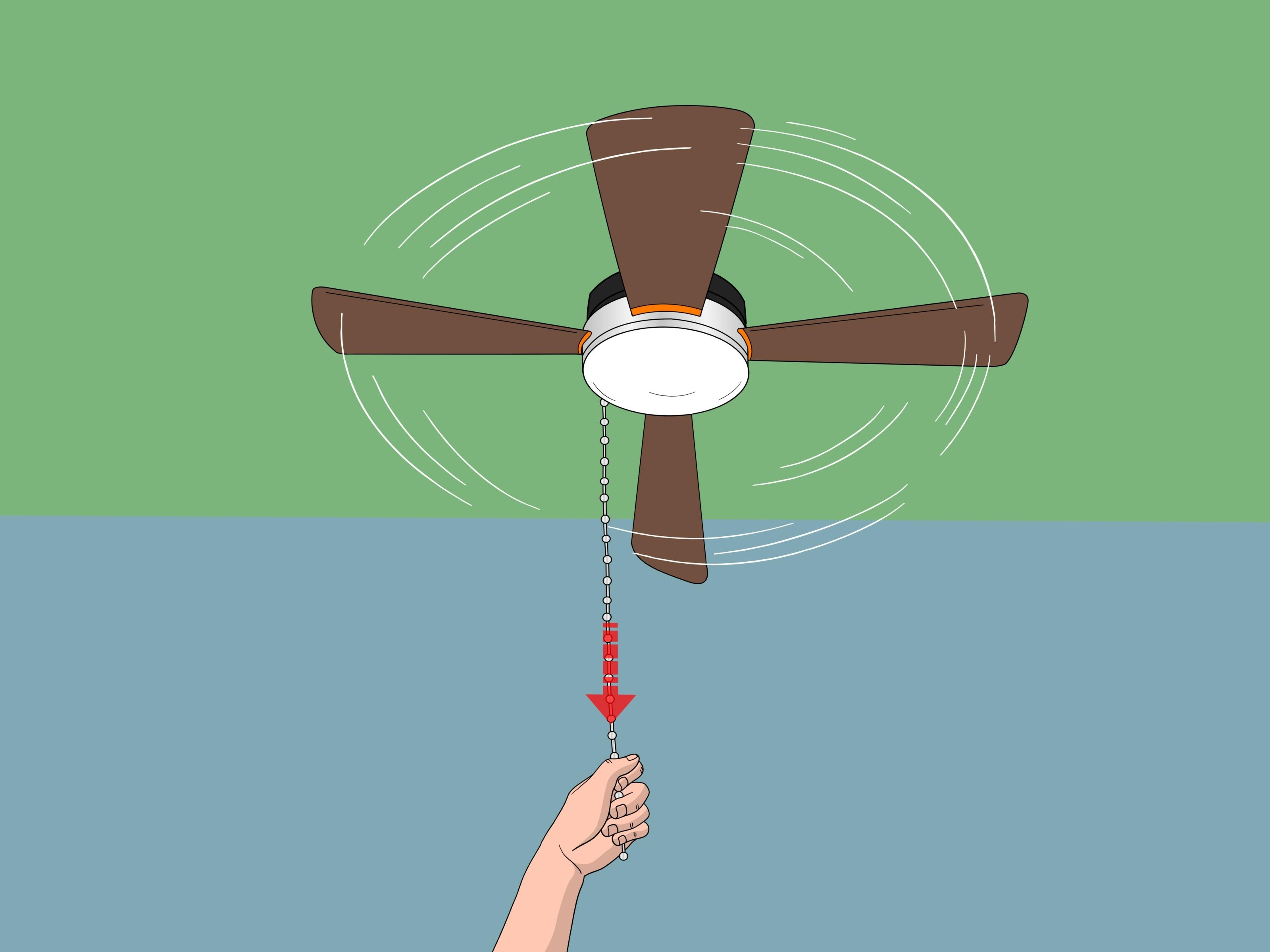 Well Known Outdoor Ceiling Fans With Pull Chain For How To Replace A Ceiling Fan Pull Chain Switch (With Pictures) (View 19 of 20)