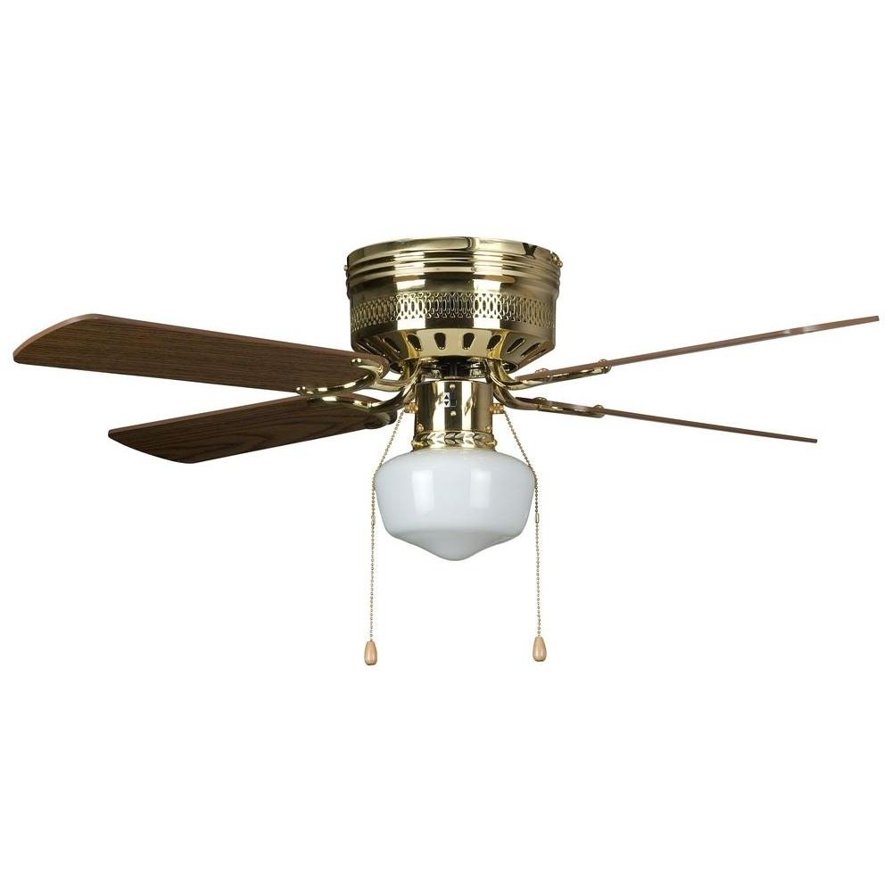 Well Known Outdoor Ceiling Fans With Schoolhouse Light Pertaining To Concord Fans Hugger Schoolhouse Series 42 In (View 2 of 20)