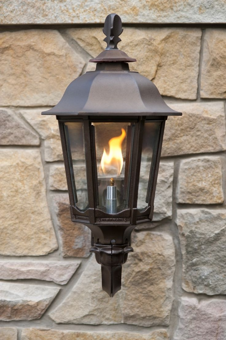 Well Known Outdoor Flame Lights – Outdoor Lighting Ideas For Outdoor Propane Lanterns (View 19 of 20)