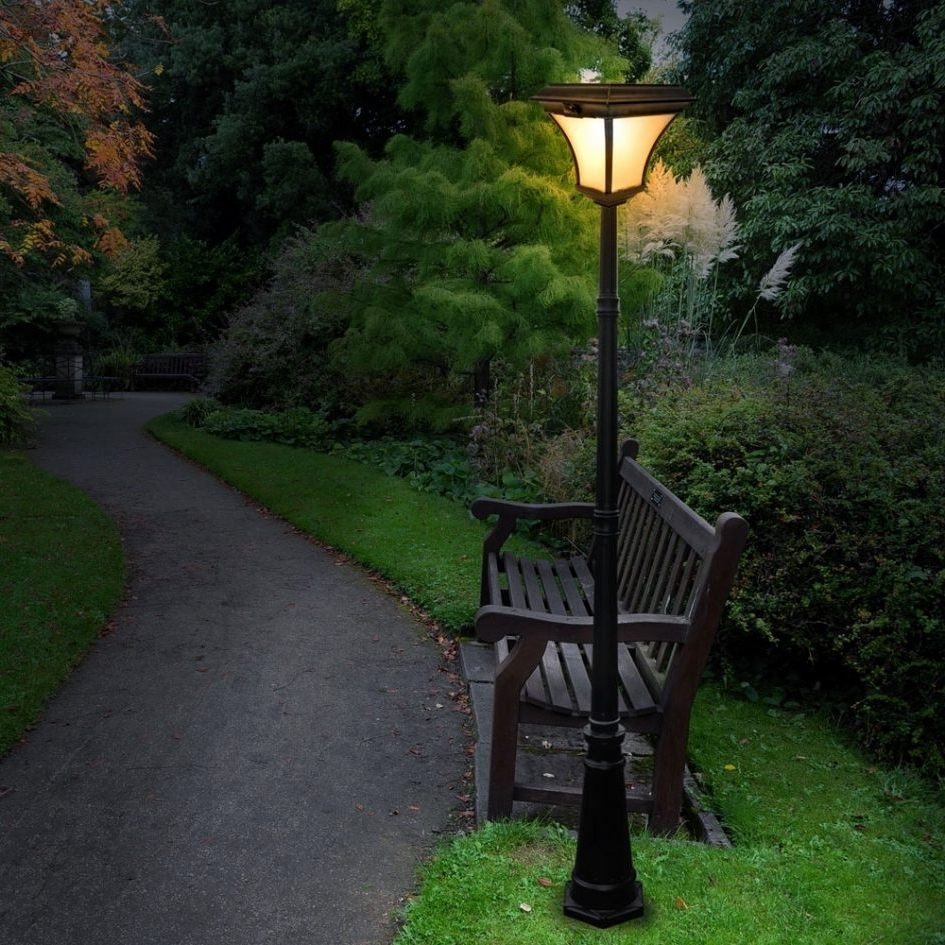 Well Known Outdoor Ground Lanterns Intended For Outdoor Solar Lighting Ideas Fresh Gate Post Lamps Driveway Lights (View 13 of 20)