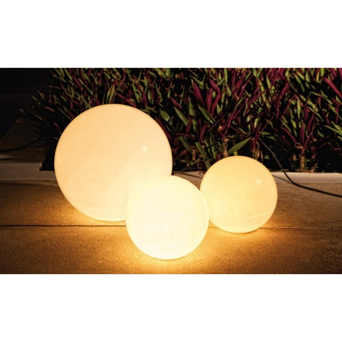 Well Known Outdoor Lamp Globes – Outdoor Lighting Ideas With Regard To Outdoor Globe Lanterns (View 8 of 20)