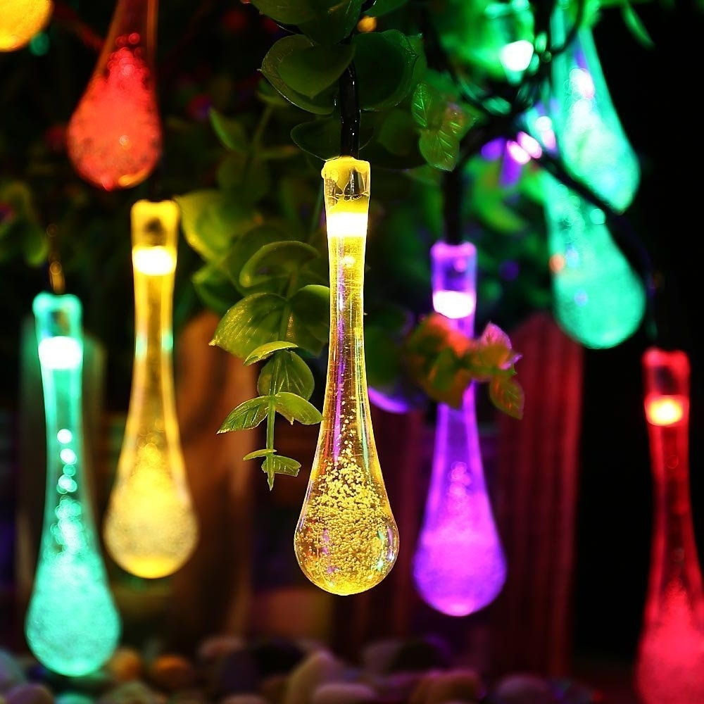 Well Known Outdoor Lanterns For Christmas Inside 8 Best Outdoor Christmas Solar String Lights October  (View 19 of 20)