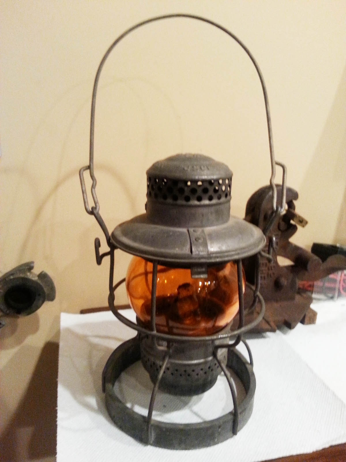 Well Known Outdoor Railroad Lanterns Throughout Question & Answer Board: Railroadiana Online Website (View 19 of 20)