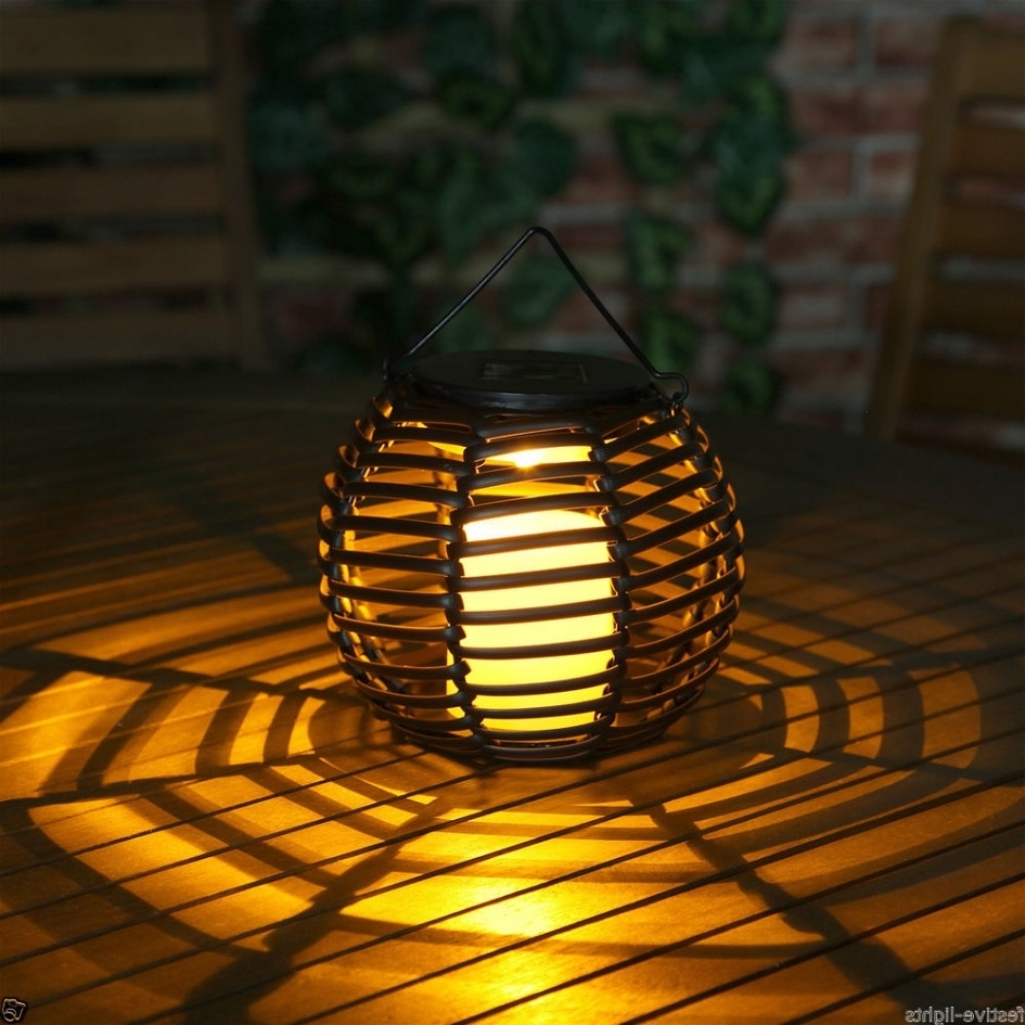 Well Known Outdoor Round Lanterns Inside Lighting Ideas: Outdoor Lantern For Patio With Fire Pit Table And (View 2 of 20)