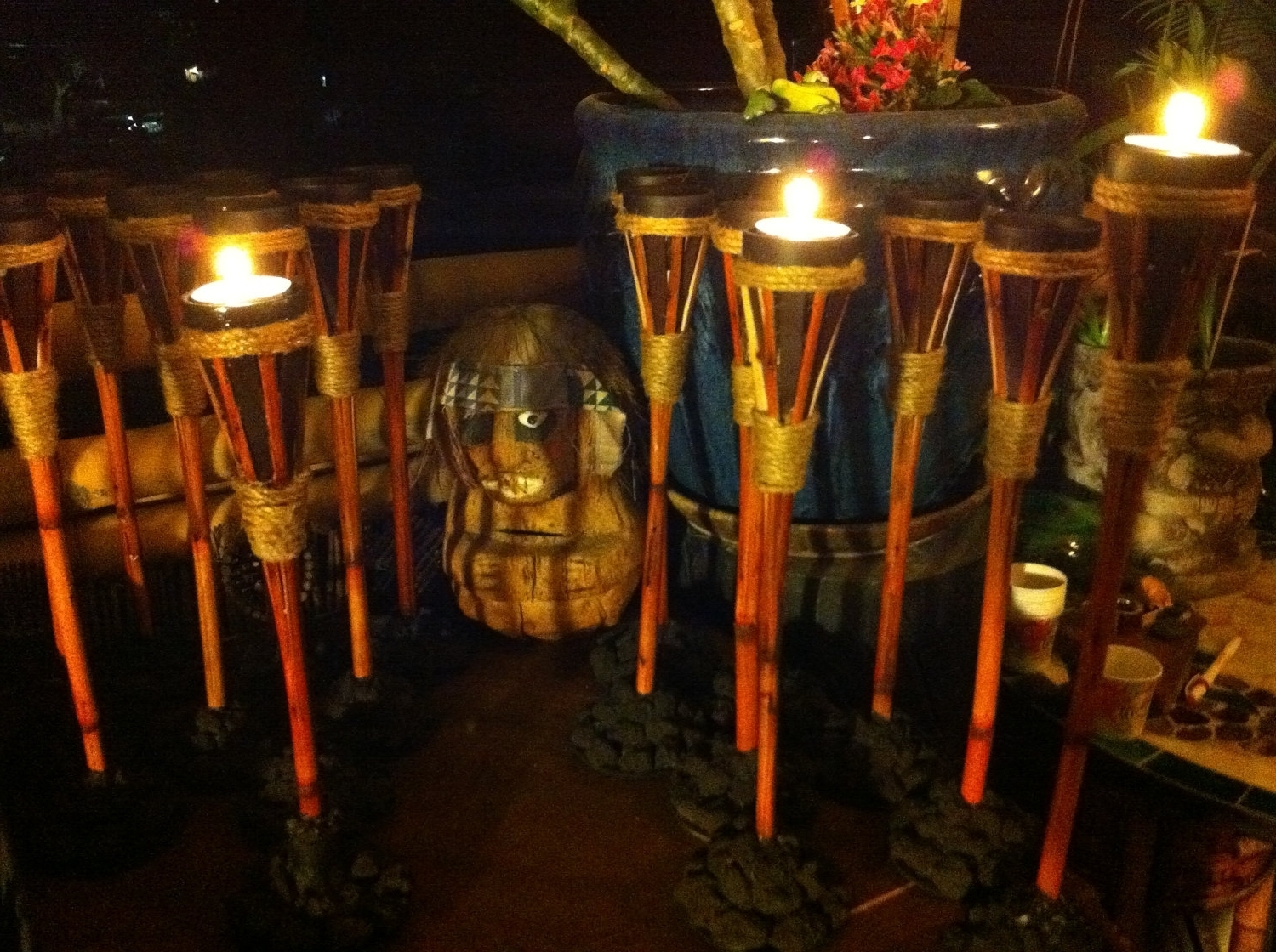 Well Known Outdoor Tiki Lanterns Pertaining To Outdoor Tiki Lights – Outdoor Lighting Ideas (View 20 of 20)