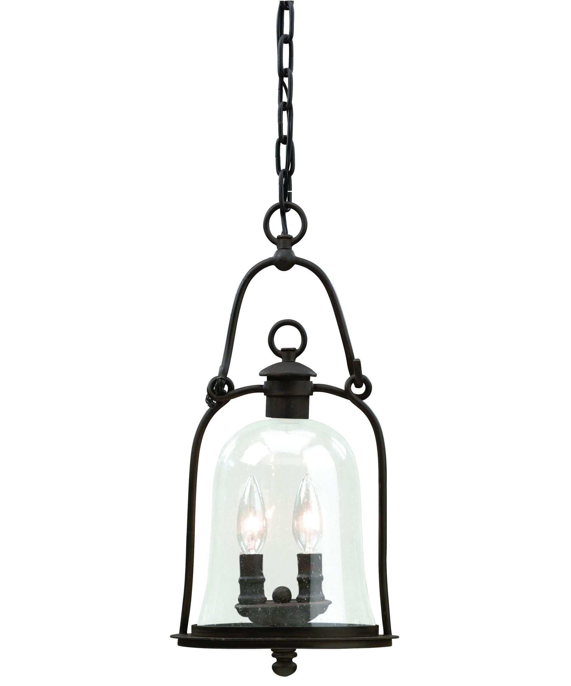 Well Known Quality Outdoor Lanterns Throughout Troy Lighting F9466 Owings Mill 9 Inch Wide 2 Light Outdoor Hanging (View 19 of 20)