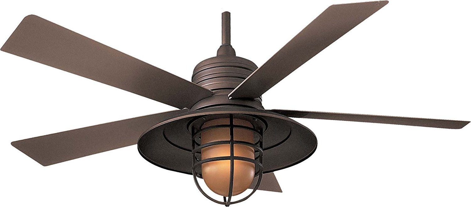 Well Known Rustic Outdoor Ceiling Fans With Lights Within Outdoor Ceiling Fans With Lights Wet Rated Popular Outdoor Ceiling (View 19 of 20)