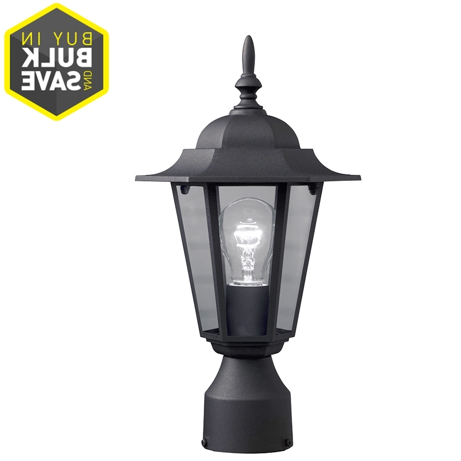 Well Known Shop Post Lighting At Lowes Pertaining To Outdoor Patio Electric Lanterns (View 19 of 20)