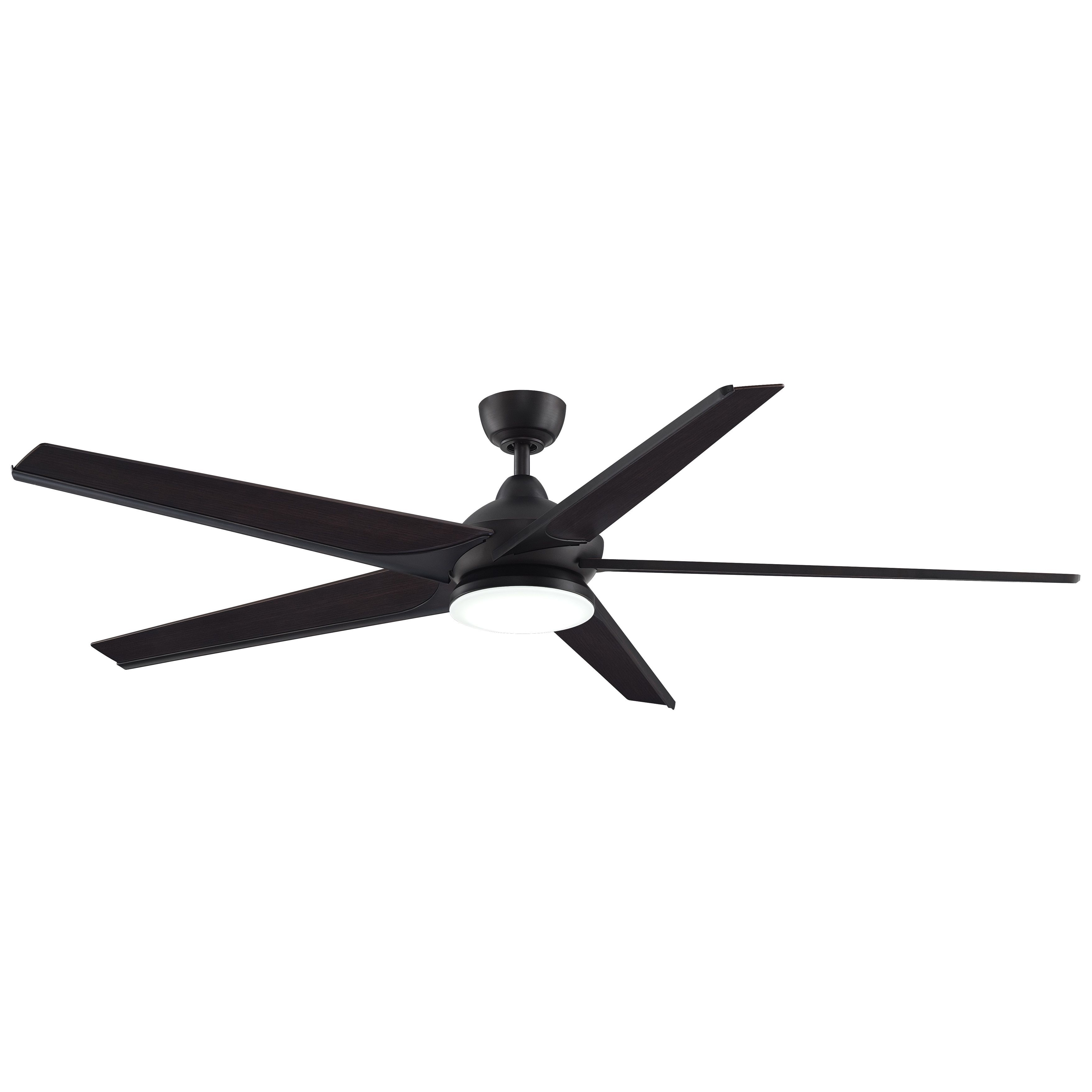 Well Known Subtle – 72 Inch Ceiling Fan With Led (dark Bronze With Bourbon Wood Pertaining To 72 Inch Outdoor Ceiling Fans With Light (View 6 of 20)