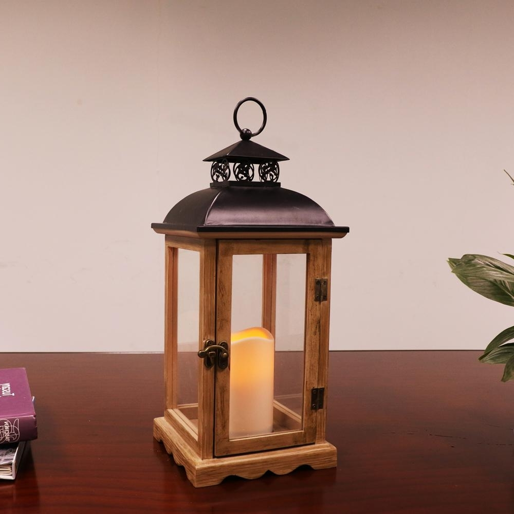 Well Known Tall Outdoor Lanterns For 14 1/2 In (View 19 of 20)