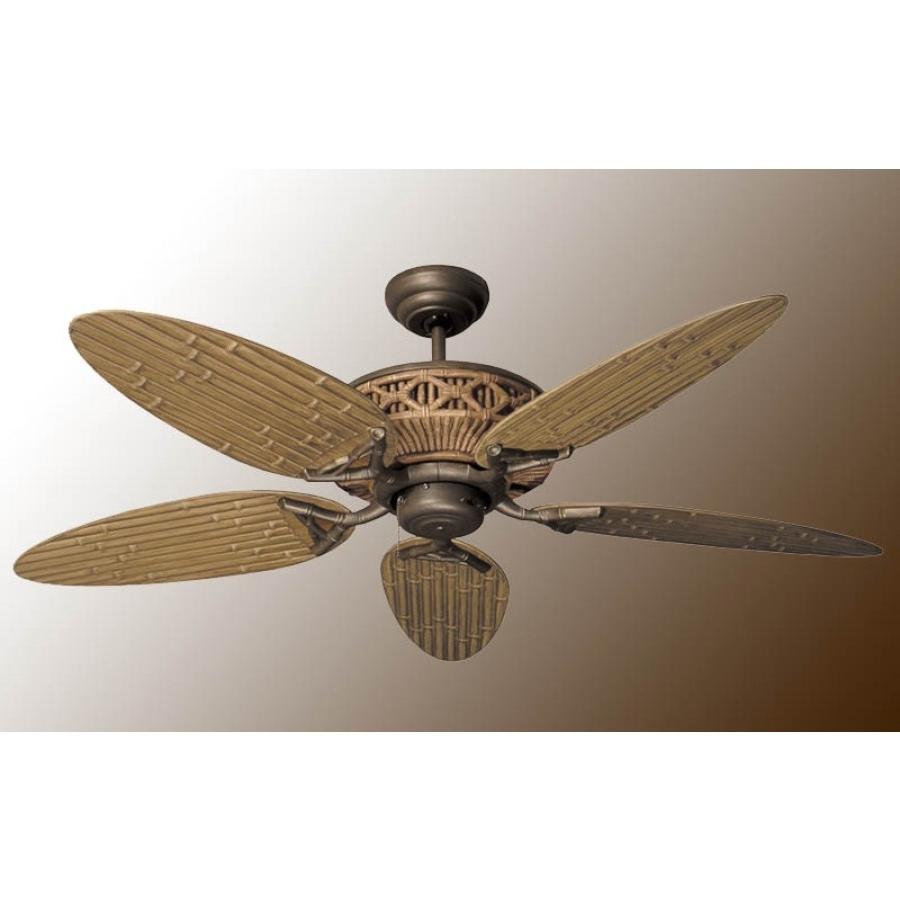 Well Known Tiki Ceiling Fan, Outdoor Fan Inside Outdoor Ceiling Fans For 7 Foot Ceilings (View 18 of 20)