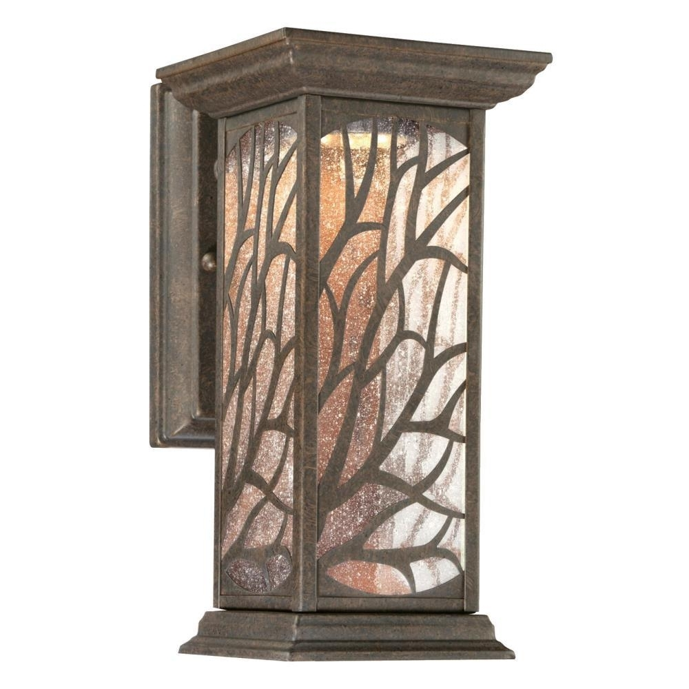 Well Known Victorian Outdoor Lanterns Inside Westinghouse Glenwillow 1 Light Victorian Bronze Outdoor Integrated (View 10 of 20)