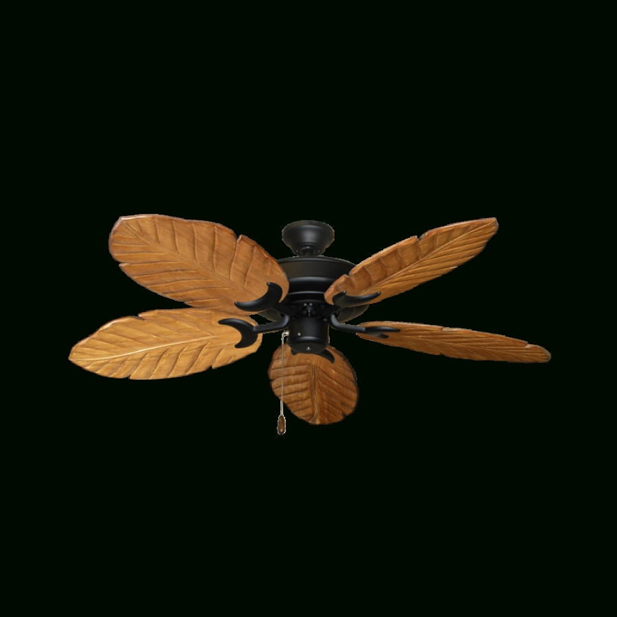 Well Known Wicker Outdoor Ceiling Fans Pertaining To Outdoor Ceiling Fan, Gulf Coast Raindance (View 5 of 20)