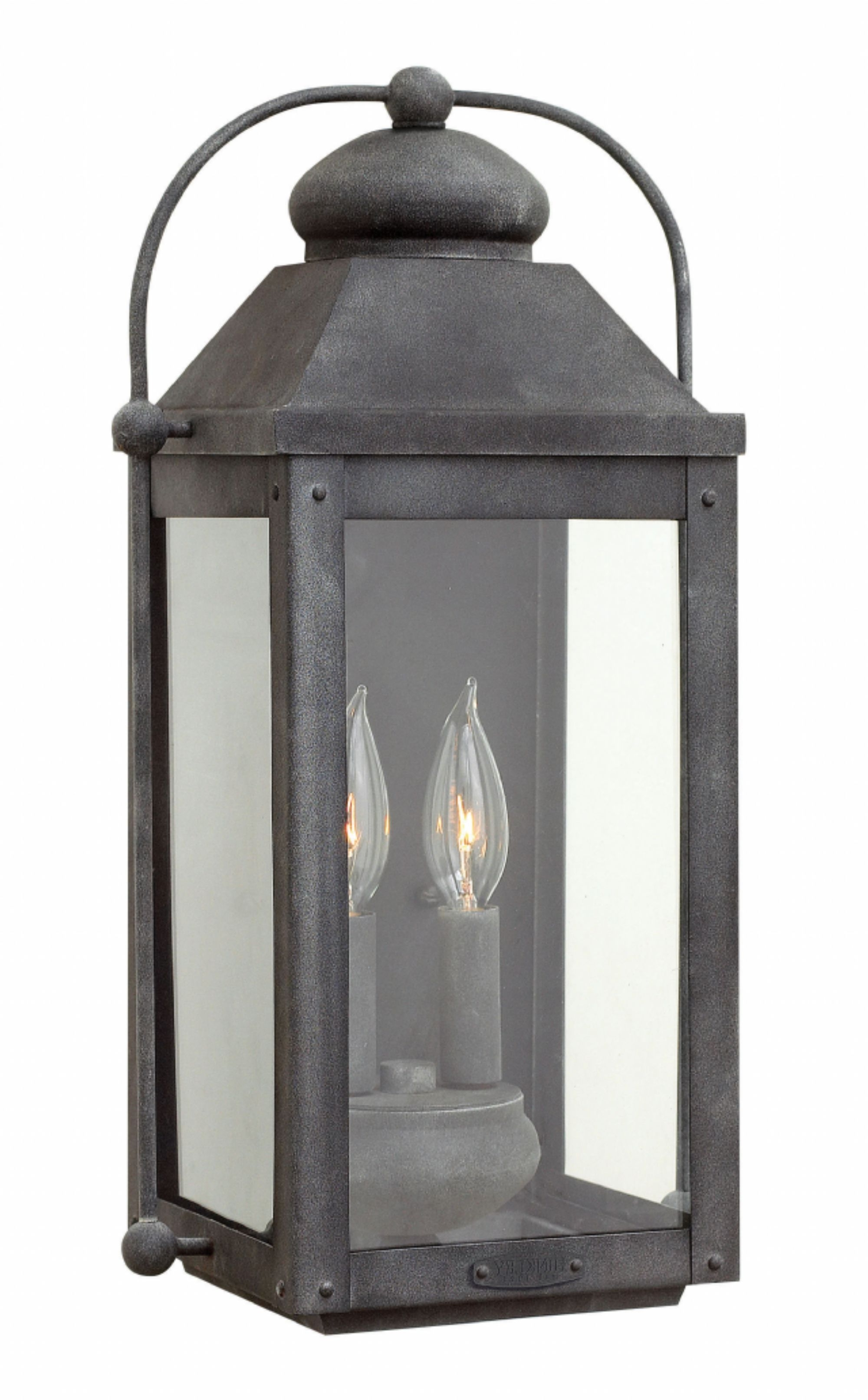 Well Known Zinc Outdoor Lanterns With Regard To Battery Wall Sconce (View 7 of 20)