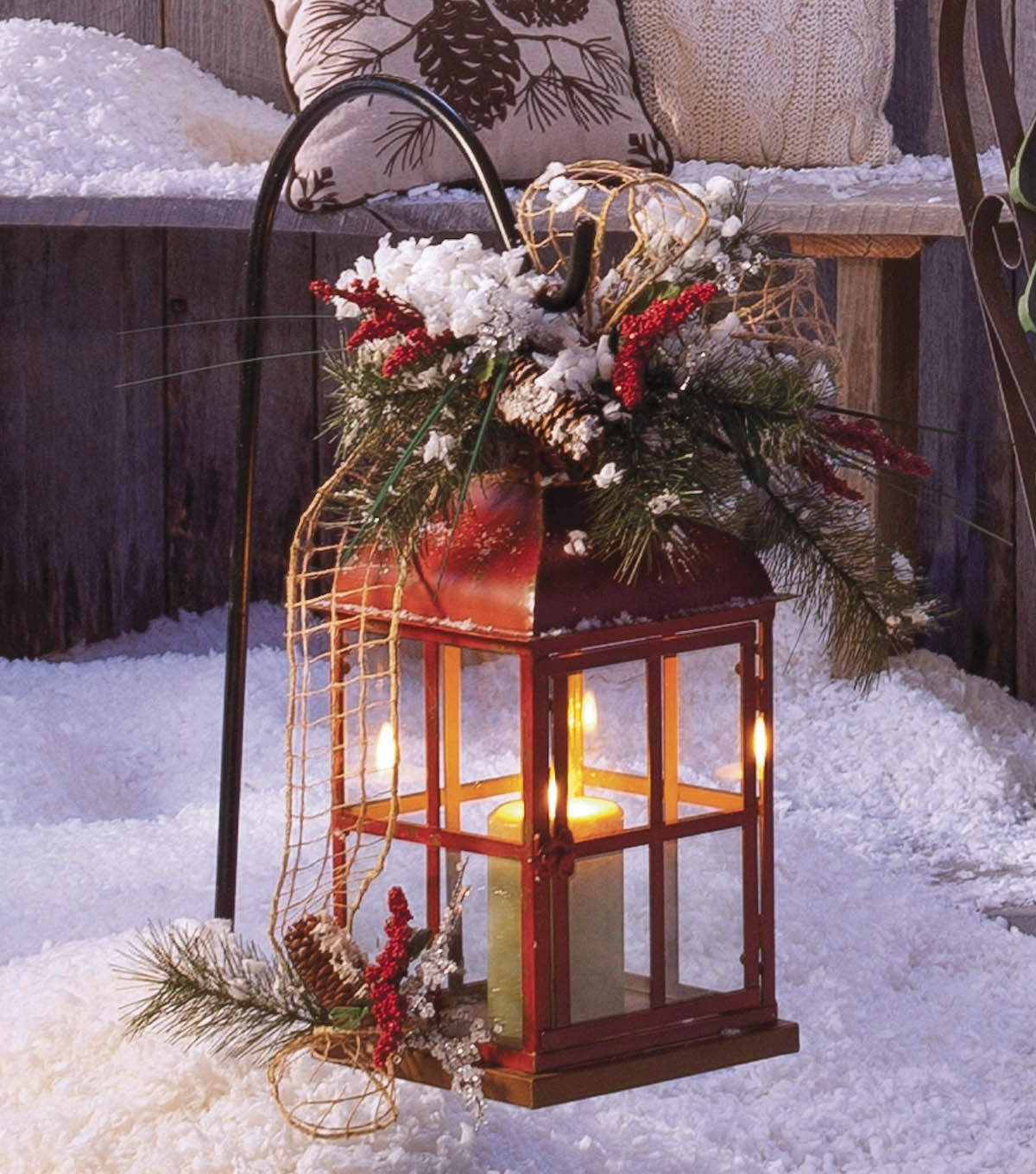 Well Liked Diy Weather Proor Outdoor Lantern ! After Holidays You Just Take Off With Outdoor Holiday Lanterns (View 16 of 20)