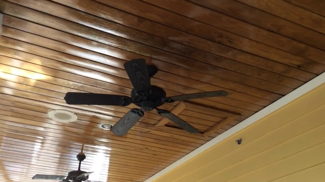 Well Liked Outdoor Ceiling Fans For Patios Inside Craftmade Outdoor Patio Ceiling Fans – Youtube (View 19 of 20)