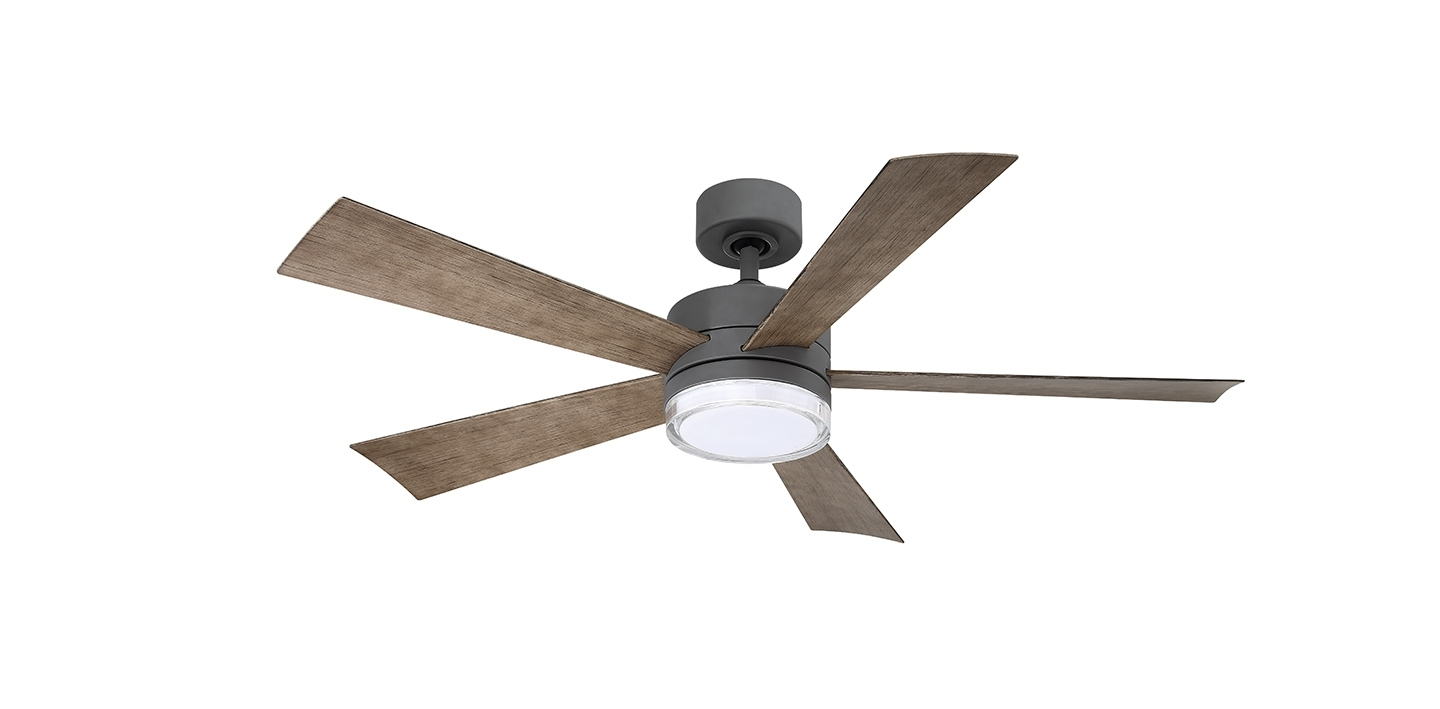 Well Liked Outdoor Ceiling Fans With Dc Motors Within Wynd  (View 20 of 20)