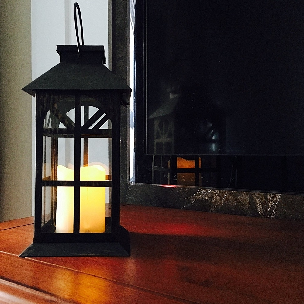 Well Liked Outdoor Lawn Lanterns With Regard To Steadydoggie Indoor Outdoor Solar Lantern For Patio And Garden (View 9 of 20)
