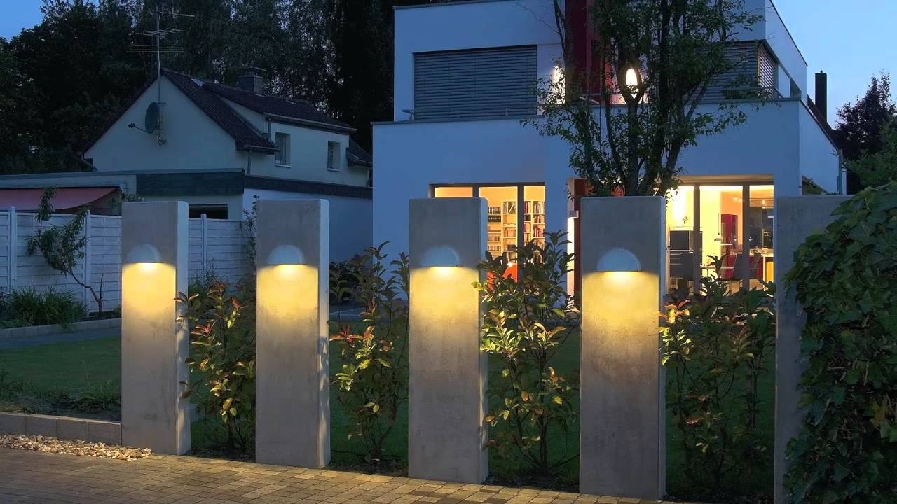 Well Liked Outdoor Lights For House – Outdoor Lighting Ideas With Outdoor Lanterns For House (View 15 of 20)