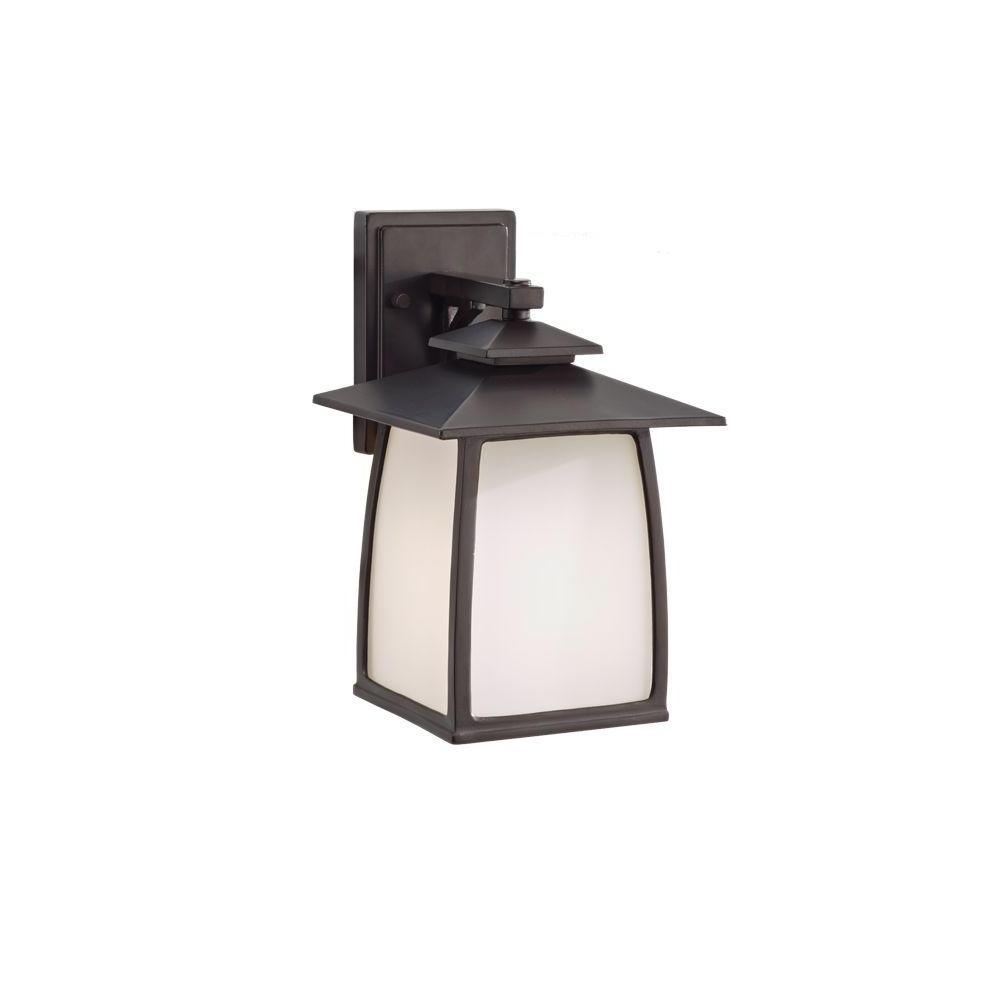 Well Liked Outdoor Oil Lanterns For Patio With Regard To Feiss Wright House 1 Light Oil Rubbed Bronze Outdoor Wall Lantern (View 20 of 20)
