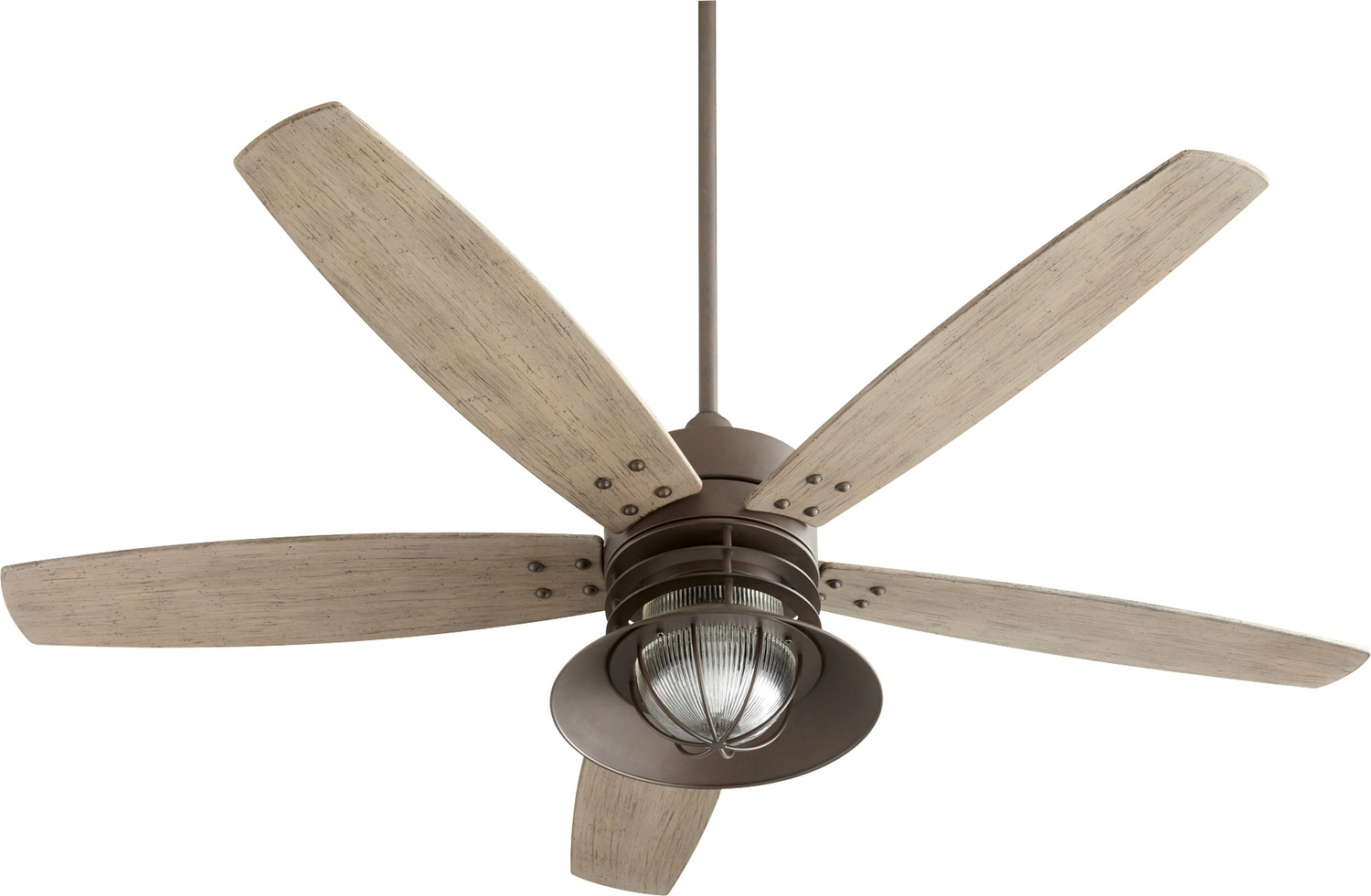 Well Liked Quorum Outdoor Ceiling Fans Regarding Portico Outdoor Ceiling Fan With Lightquorum (View 20 of 20)