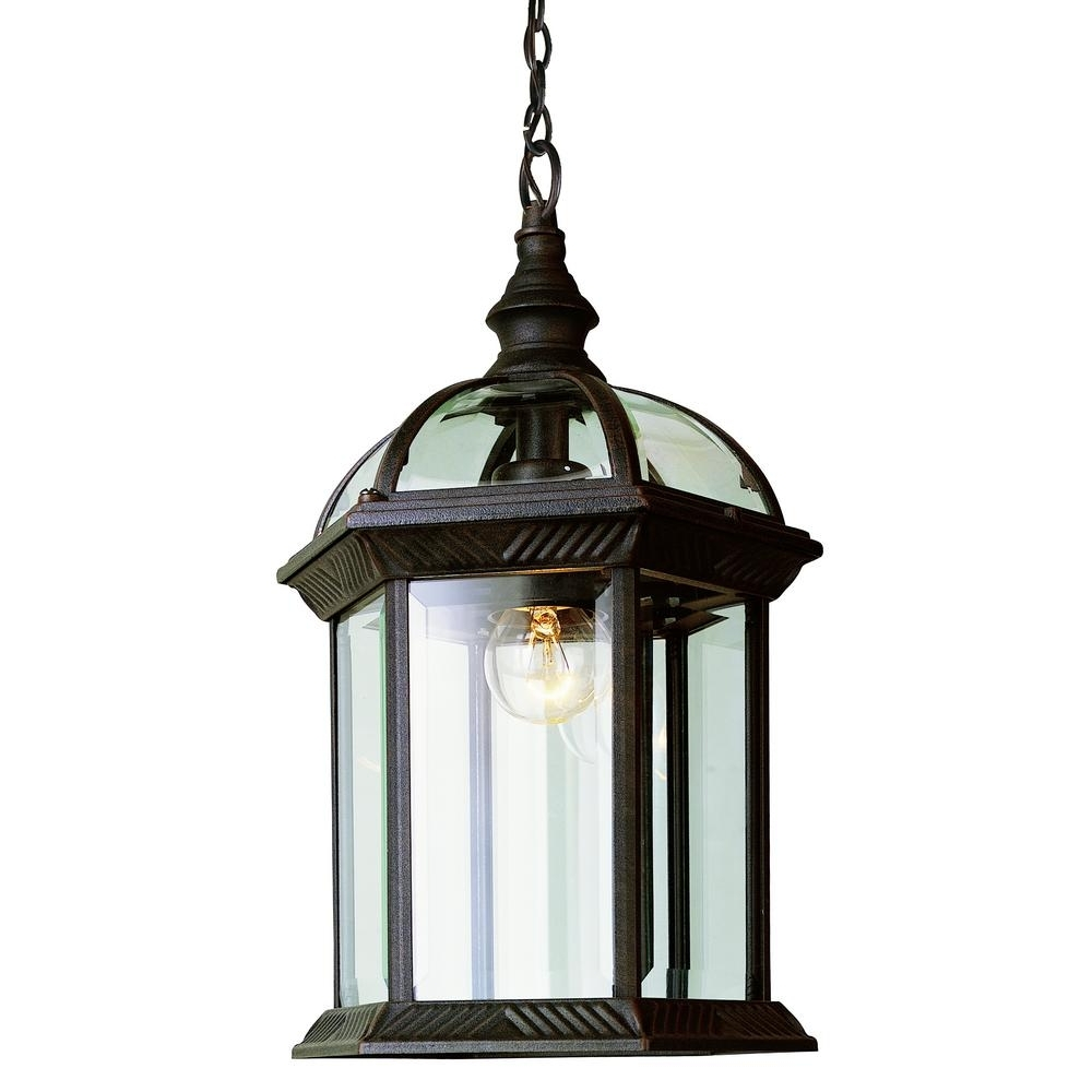 Well Liked Rust Proof Outdoor Lanterns For Bel Air Lighting Atrium 1 Light Outdoor Hanging Rust Lantern With (View 2 of 20)