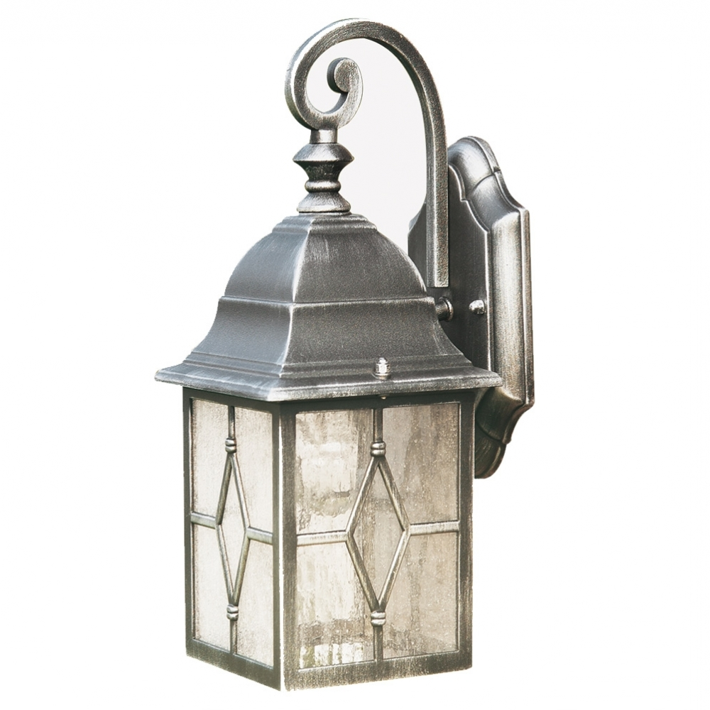 Well Liked Searchlight Geona Traditional Die Cast Aluminium Outdoor Lantern Intended For Outdoor Lanterns With Pir (View 8 of 20)