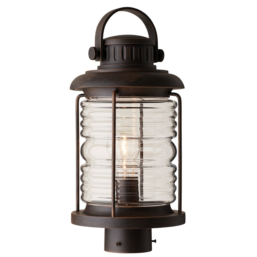 Well Liked Shop Post Lighting At Lowes With Rust Proof Outdoor Lanterns (View 20 of 20)